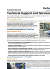 Hofmann Technical Support and Services Flyer