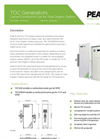 Model TOC 1500/TOC1500HP - Total Organic Carbon Generator - Datasheet