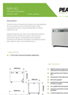 Genius - Model NM3G - On-Site Nitrogen Gas Generator - Datasheet