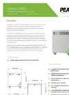 Genius - Model 1050 - Nitrogen Generator for LC-MS - Datasheet
