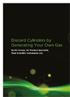 Discard Cylinders by Generating Your Own Gas