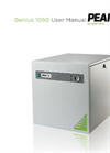 Genius - Model 1050, 1051/61, 1052 & 1053 - Nitrogen Generator - User Manual