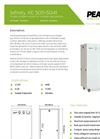 Peak Scientific - Model Infinity XE 50 Series - Membrane Nitrogen Generator - Datasheet