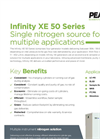 Peak Scientific - Model Infinity XE 50 Series - One Sheet