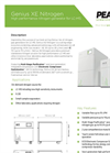 Genius XE Nitrogen High Performance Nitrogen Generator for LC-MS - Datasheet
