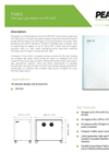 Halo Nitrogen Generator for MP-AES - Datasheet