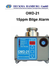 Deckma OMD-21 - Oil Water Monitor - 15ppm Bilge Alarm Brochure