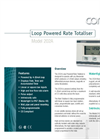 202Ai ATEX - Loop Powered Rate Totaliser Brochure