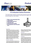 FT3 - Threaded Turbine Flowmeters Brochure