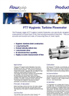 FT7 - Hygienic Turbine Flowmeters Brochure
