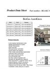 BioGas AutoKleen - Siloxane Removal System Datasheet