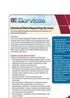 Chemical Data Reporting Services (CDR) Brochure