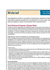 Ariel Chemical Property/Hazard Data Brochure