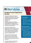 European Product Registration Brochure