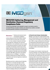 MSDgen SDS Authoring, Management and Distribution Chemical Regulatory Compliance Suite Brochure