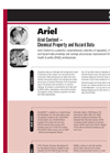 Ariel Content — Chemical Property and Hazard Data Brochure