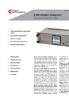 Z130 - Oxygen Analyzer - Rapid Response Zirconia (Panel Mount) Brochure