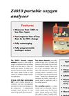 Z4010 - Zirconia Oxygen Analyzer (Transportable) Brochure