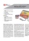 MAPtest - 3050 - Modified Atmosphere Gas Analyser (Bench Top) Brochure
