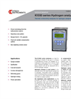 K1550 Series Hydrogen Analysers Technical Datasheet