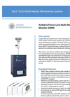 Cooper Environmental Xact 625i Ambient Continuous Multi-Metals Monitor - Specification Sheet