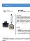 Cooper Environmental - QAG 825 Multi-Metal Quantitative Aerosol Generator - Brochure