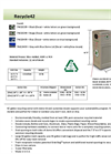 Model Recycle42 - 42-Gallon Dome Lid Recycling Bin - Brochure