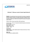 ChitoVan - Chitosan Lactate Cartridge - Technical Specifications