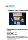 ChitoVan Floc Test Kit Using Bentonite Clay - Instructions Manual
