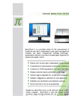 Version SpeckCheck 2 - A Powerful, Professional Analysis Tool - Brochure