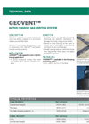 GEOVENT Active/Passive Gas Venting System - Technical Data