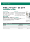 Organoclay - Model SS-199 - Organic Adsorption Media - Technical Datasheet