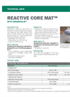 REACTIVE CORE MAT Permeable Composite of Geotextiles and Granular Organoclay - Technical Data