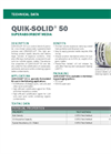 QUIK-SOLID 50 Granular Cross-Linked Polyacrylate Superabsorbent Polymer - Technical Data