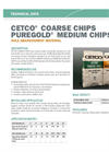 CETCO COARSE CHIPS Hole Abandonment Material - Technical Data Sheets