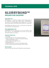 SLURRYBOND Powdered Inorganic Mineral Formula - Technical Data Sheets
