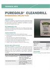 PUREGOLD CLEANDRILL Bentonite Free Powder - Technical Data Sheets
