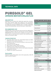 PUREGOLD GEL Bentonite Drilling Fluid - Technical Data Sheets