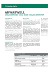 AKWASWELL Polyurethane-Based Caulk Grade Swelling Paste - Technical Data Sheets