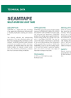 CETCO SEAMTAPE Single-Sided Tape - Technical Data Sheets