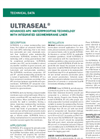 ULTRASEAL XP Active Waterproofing Technology - Technical Data Sheets