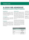 A-3000WB Water-Based Latex Adhesive - Technical Data Sheets
