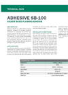 SB-100 Solvent-Based Contact Adhesive - Technical Data Sheets