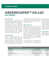 GREENSCAPES GS-120 Root Barrier - Technical Data Sheets