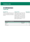COREDISC Thermoplastic Waterproofing Membrane - Technical Data Sheets