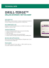 DRILL-TERGE Drilling Detergent/Wetting Agent - Technical Data Sheets