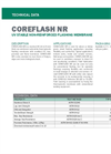 COREFLASH NR UV Stable Non-Reinforced Flashing Membrane - Technical Data Sheets