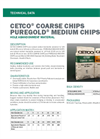 PUREGOLD Medium Coarse Chips - Hole Abandonment Material - Technical Data Sheets