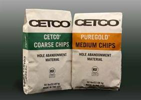 CETCO COARSE CHIPS - Hole Abandonment Material