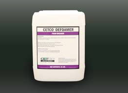 CETCO - Model DEFOAMER - Non-Ionic Silicone Solution